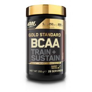 4. ON Gold Standard BCAA Train + Sustain - 266 g / 28 дози