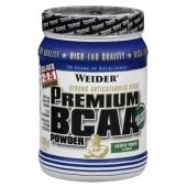 5. Weider Premium BCAA – 500 g / 50 дози – с вкус на Екзотичен пунш