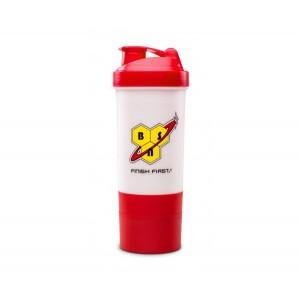BSN N.O.-XPLODE SHAKER 600 ml + 2 Отделения