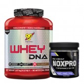 Стак 01 - BSN WHEY DNA - 1.87 kg (4.12 lb) + Xpro NOXPRO PRE-WORKOUT - 300 g