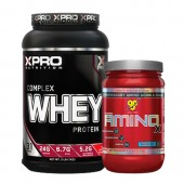 Стак 02 - Xpro WHEY Complex Protein - 1kg + BSN Amino X - 435 g