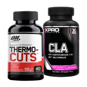 Стак 10 - ON THERMO-CUTS - 40 капсули + Xpro CLA - 90 капсули