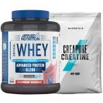 Stack: Applied - Critical WHEY - 2.27 kg + MYPROTEIN - CREAPURE® Creatine - 250 g