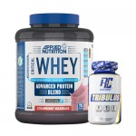 Stack: Applied - Critical WHEY - 2.27 kg + RCSS - TRIBULUS XS - 120 caps