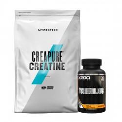Stack – Xpro TRIBULUS – 90 caps + MYPROTEIN - CREAPURE® Creatine - 250 g