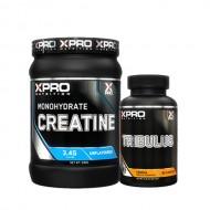 Stack – Xpro - CREATINE Monohydrate - 500 g + Xpro - TRIBULUS - 90 caps