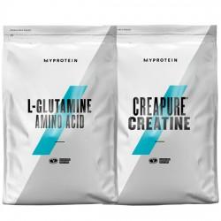 Stack – MYPROTEIN - L-GLUTAMINE - 500 g + MYPROTEIN - CREAPURE® Creatine - 500 g