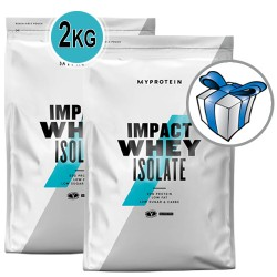MYPROTEIN - Impact Whey ISOLATE - 2 kg (2x1 kg) / 80 servings