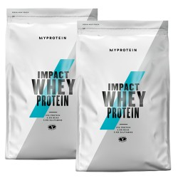 MYPROTEIN - Impact Whey Protein – 5 kg (2x2.5 kg) / 200 servings