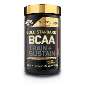 4. ON Gold Standard BCAA Train + Sustain - 266 g / 28 дози