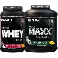Лимитиран стак – Xpro WHEY Complex Protein – 1kg + Xpro Premium MAXX – 2,5 kg (5,5 LB)