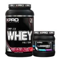 Лимитиран промо стак - Xpro WHEY Complex Protein - 1kg + Xpro L-ARGININE 300 g