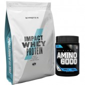 Стак 01 (Лимитиран) – MYPROTEIN - Impact Whey Protein - 2.5 kg + Xpro Premium AMINO 6000 – 200 таблетки