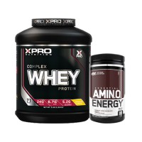 Стак 03 – Xpro WHEY Complex Protein – 2.28 kg + ON AMIN.O. ENERGY – 270 g