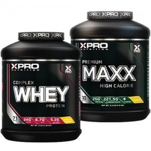 Стак 06 - Xpro WHEY Complex Protein - 2.28 kg + Xpro Premium MAXX – 2,5 kg