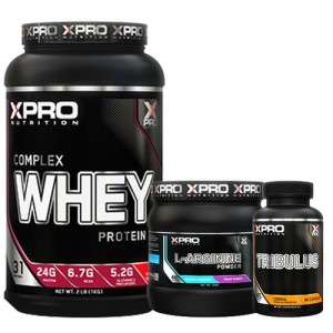 Стак 07 - Xpro WHEY Complex Protein - 1kg + ON CREATINE - 317 g + BSN N.O.-XPLODE SHAKER 600 ml с 2 отделения