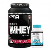Стак 03 - Xpro WHEY Complex Protein - 1 kg + ON OPTI-LEAN FAT METABOLISER - 60 капсули