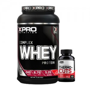 Стак 06 - Xpro WHEY Complex Protein - 1 kg + ON THERMO-CUTS - 40 капсули