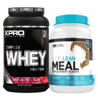 Стак 07 - Xpro WHEY Complex Protein - 1 kg + ON OPTI-LEAN MEAL Replacement Powder – 954 g