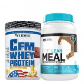 Стак 07 – Weider CFM Whey Protein ISOLATE – 908 g + ON OPTI-LEAN MEAL Replacement Powder – 954 g