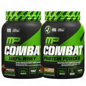 Стак 03 – MusclePharm® – Combat 100% WHEY™ – 907 g + MusclePharm® – Combat PROTEIN POWDER® - 907 g