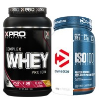 Стак 06 – Xpro WHEY Complex Protein – 1 kg + Dymatize ISO 100 – 900 g