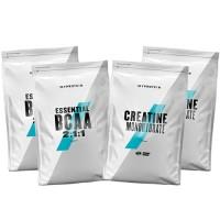 Стак 08 – MYPROTEIN – Essential BCAA 2:1:1 – 2 x 250 g (500 g) + MYPROTEIN – CREATINE Monohydrate – 2 x 250 g (500 g)
