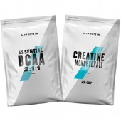 Стак 08 – MYPROTEIN – Essential BCAA 2:1:1 – 250 g + MYPROTEIN – CREATINE Monohydrate – 250 g