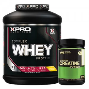 Стак 03 - Xpro WHEY Complex Protein - 2.28 kg + ON CREATINE - 317 g