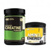 Стак 09 - ON CREATINE - 317 g + ON AMIN.O. ENERGY - 90 g