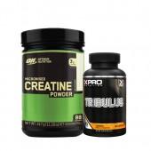 Стак 11 - ON CREATINE - 317 g + Xpro TRIBULUS – 90 капсули