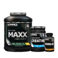 Стак 11 – Xpro Premium MAXX – 2,5 kg (5,5 LB) + Xpro CREATINE Monohydrate – 500 g + Xpro TRIBULUS – 90 caps