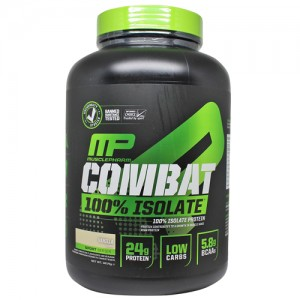 9. MusclePharm® – Combat 100% ISOLATE® - 1814 g