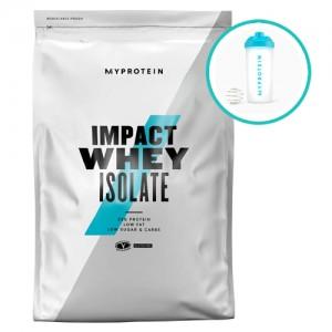 8. MYPROTEIN - Impact Whey ISOLATE - 1 kg / 40 дози