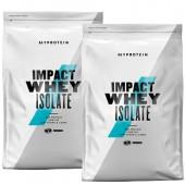 №10. MYPROTEIN - Impact Whey ISOLATE - 2 kg (2x1 kg) / 80 дози