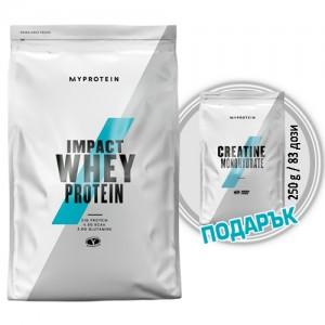 5. MYPROTEIN - Impact Whey Protein - 2.5 kg / 100 дози